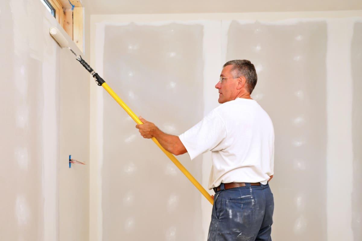 slaapkamer muren verven